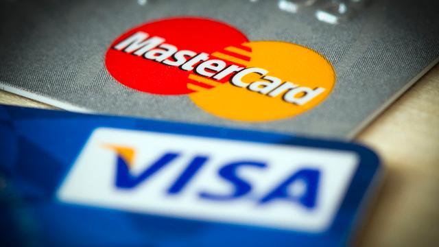 Visa-kaart verlaagt kosten voor banken