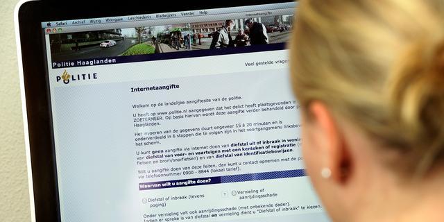 'Vanaf 2015 online aangifte doen bij politie met DigiD'