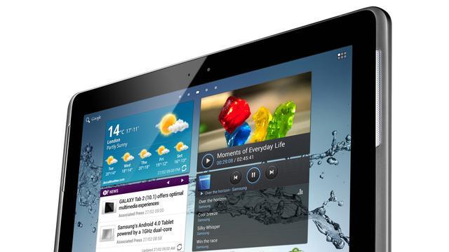 Update maakt e-mailapp Galaxy Tab 2 onbruikbaar