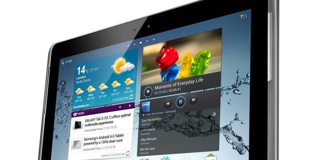 Samsung onthult 10.1-versie Galaxy Tab 2