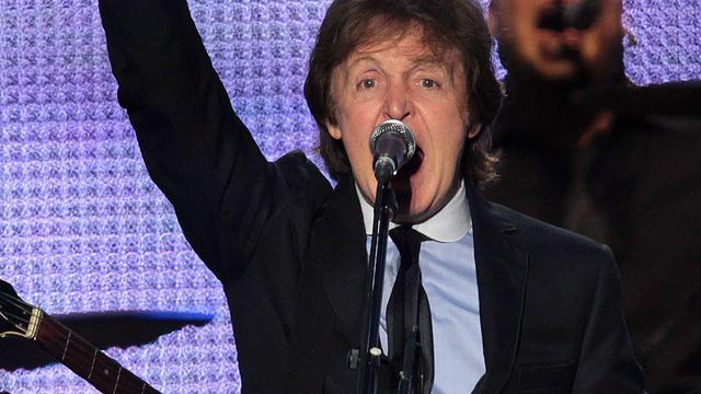 Paul McCartney ontvangt Legion d'Honneur