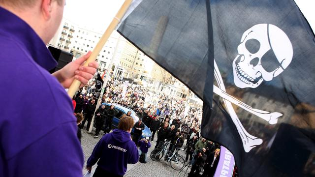 Piratenpartij staat op één zetel in peiling