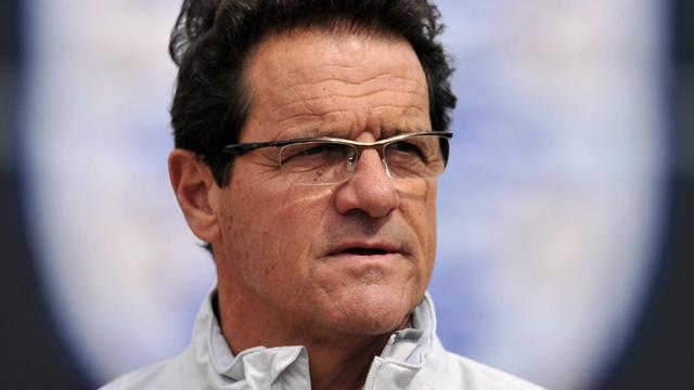 Capello neemt ontslag als bondscoach van Engeland
