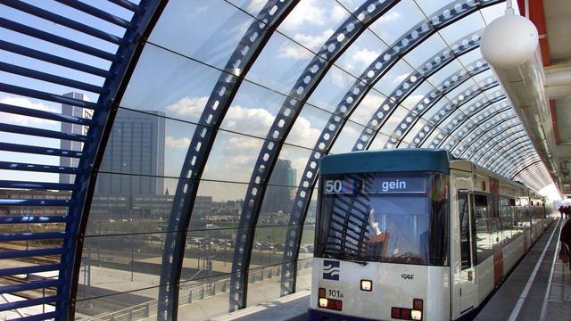 Metro Amsterdam kort stil door storing