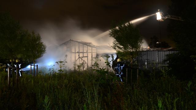 Gebied in Rijnsburg afgezet om asbest
