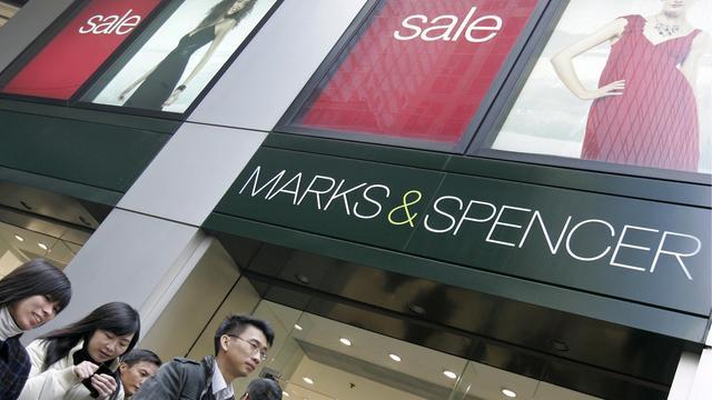 Flink minder loon topman Marks & Spencer