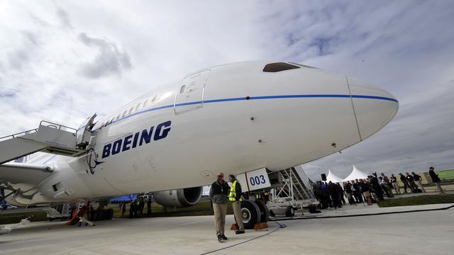 Boeing aan kop in strijd met Airbus