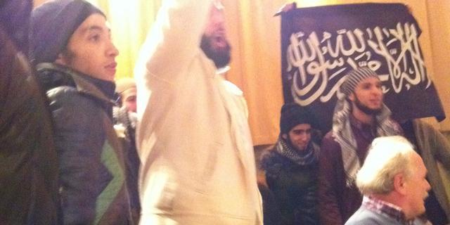 Boete voor woordvoerder Shariah4Holland