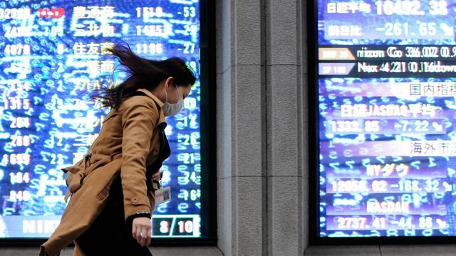 Nikkei eindigt lager
