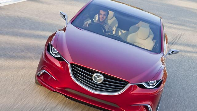 Mazda 6 diesel naar de VS