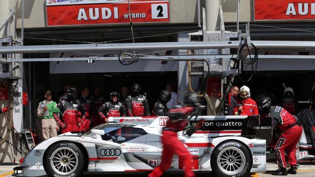 Zware crash tijdens 24 uur van Le Mans