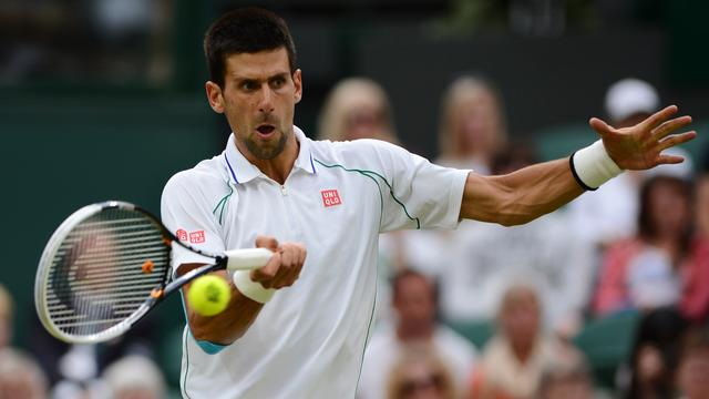 Djokovic in vier sets langs Stepanek