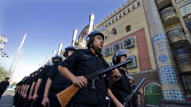 'Turkse demonstranten vallen Chinezen aan'
