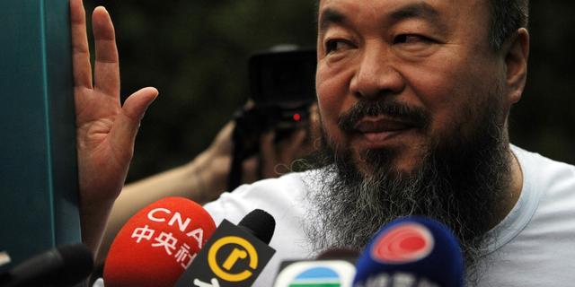 Excuses en Brits visum voor Ai Weiwei