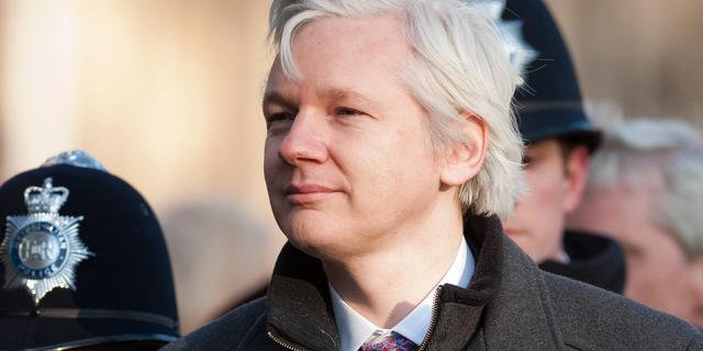 Assange is bang vermoord te worden door CIA