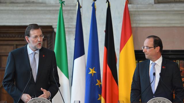 Ontmoeting financiële ministers in Parijs