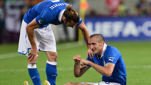 Italië mist verdediger Chiellini in kwartfinale