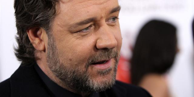 'Russell Crowe en vrouw uit elkaar'