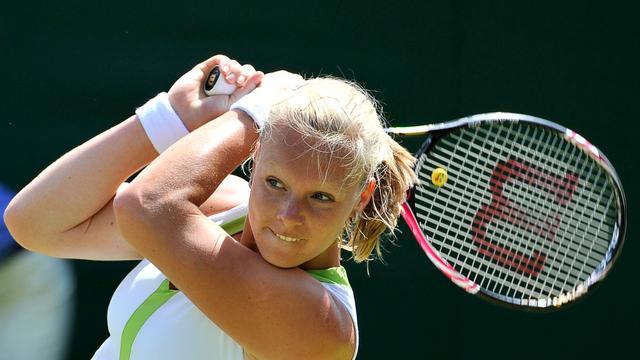 Bertens overtuigend naar tweede ronde Wimbledon