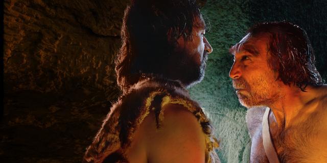 Mogelijk maakte Neanderthaler wandtekeningen