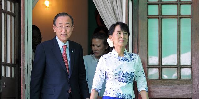 Arts bezorgd om gezondheid Suu Kyi