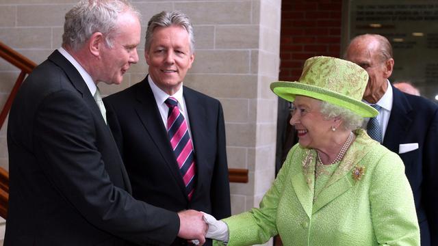 Britse koningin ontmoet ex-topman IRA