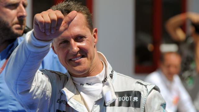 Mercedes ziet Schumacher vaker op podium eindigen