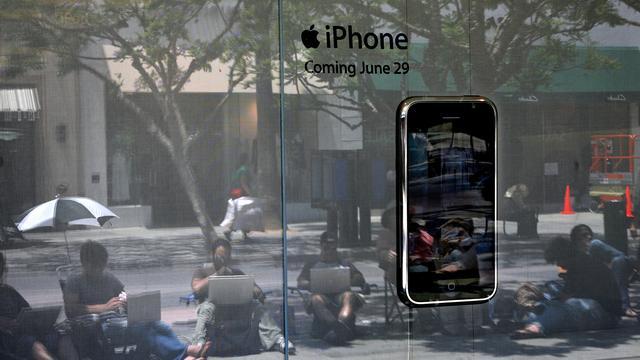 Apple verkocht 218 miljoen iPhones