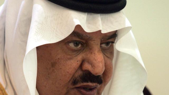 Kroonprins Saudi-Arabië gestorven