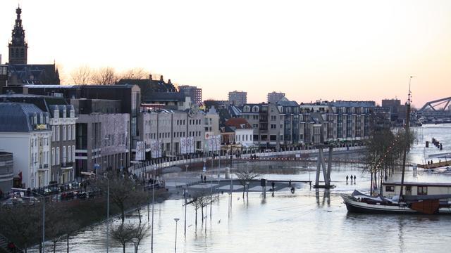 Waalkade in Nijmegen instabiel