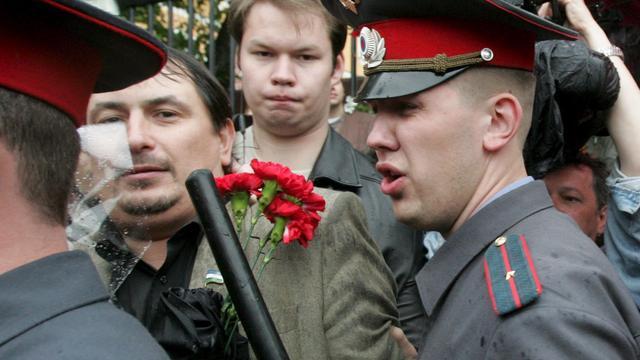 Russische activist wil asiel in Nederland