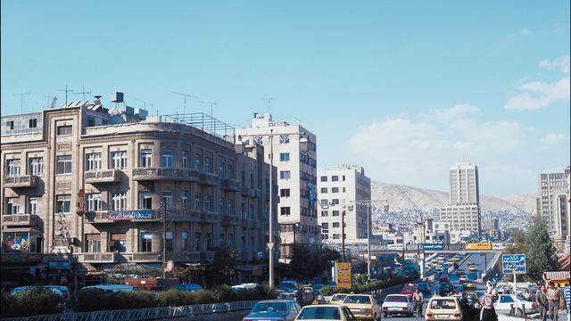 Explosie in Syrische hoofdstad Damascus