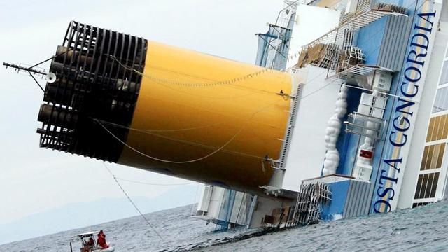 Beslag op cruiseschip moederbedrijf Costa Concordia