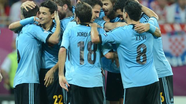 Spanje dringt door tot laatste acht op EK