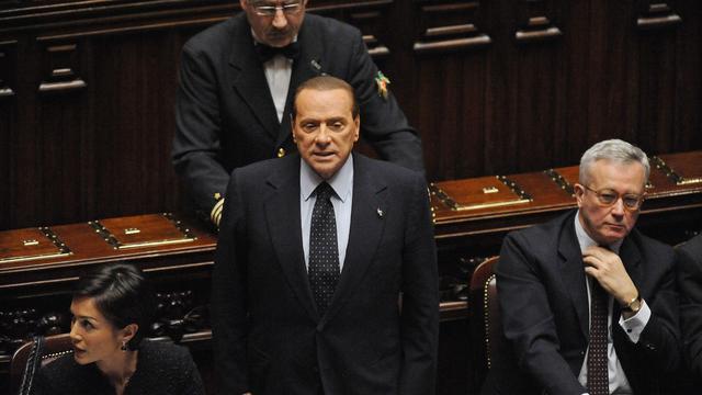 Berlusconi's ministers klagen over Berlusconi