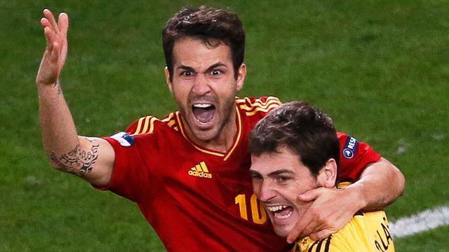 Spanje via strafschoppen naar EK-finale