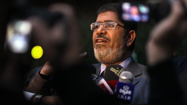 Mursi zaterdag beëdigd voor opperrechters