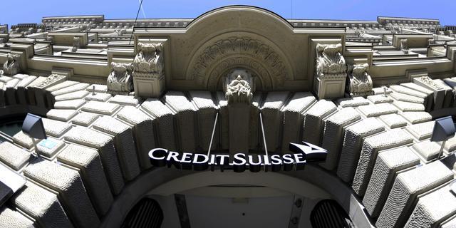 'Credit Suisse schrapt weer 1000 banen'