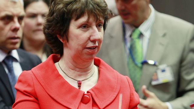 Catherine Ashton naar Kiev voor bemiddelingspoging