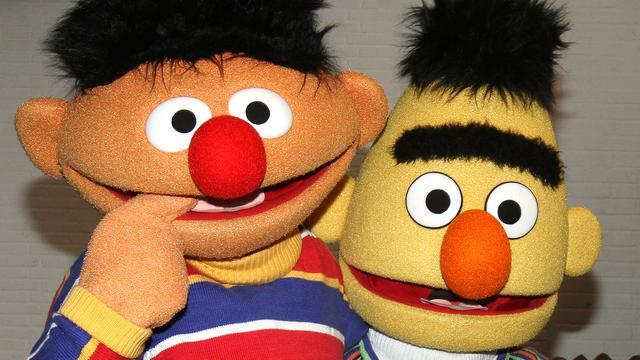 Bert en Ernie 'gay' op cover The New Yorker