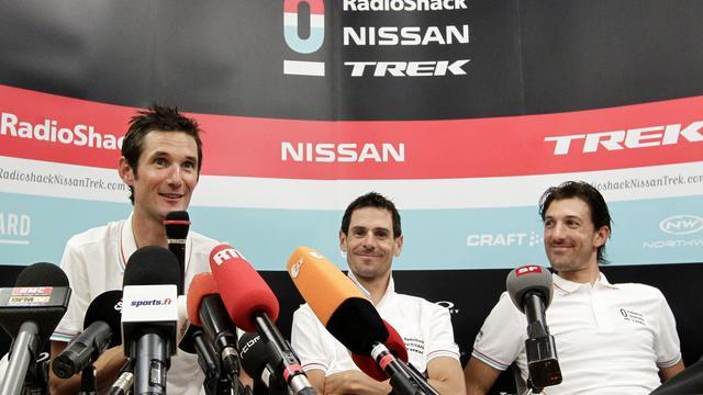 Fränk Schleck acht podiumplaats onhaalbaar