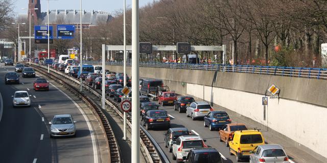 Files richting Nijmegen door concert