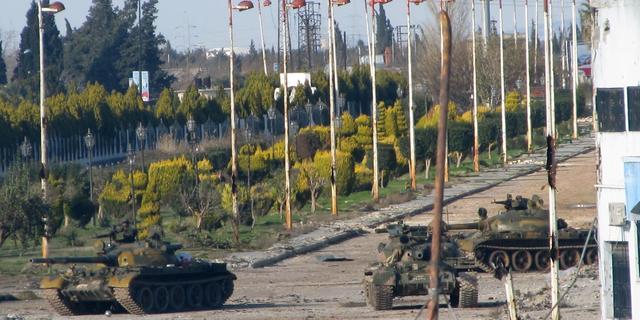 170 Syrische tanks bij Turkse grens