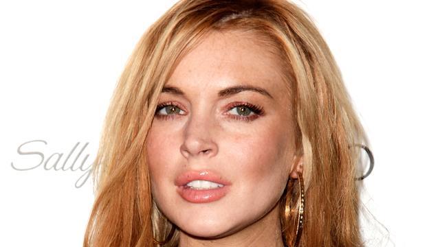 Eerste foto van Lindsay Lohan als Liz Taylor