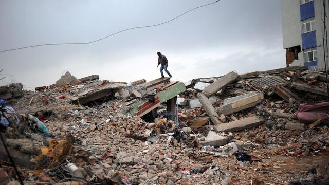 Aardbeving treft Turkije
