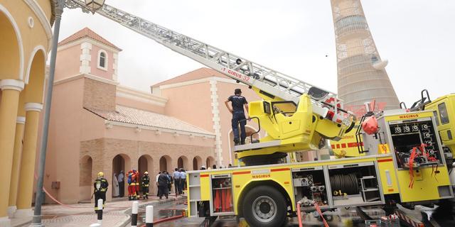 Slechte bedrading oorzaak brand Qatar