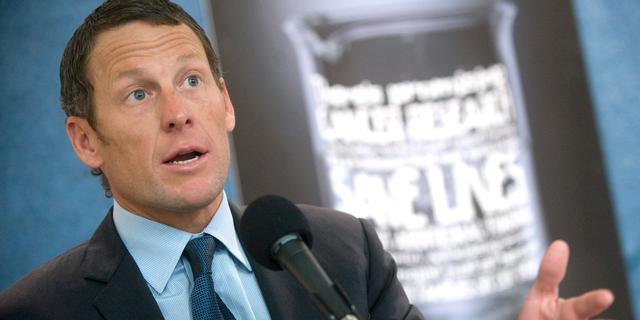 'Nike dubieus in zaak-Armstrong'