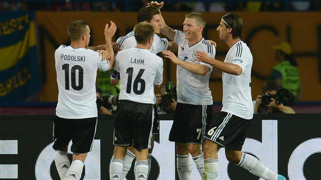 Oranje op achterstand tegen Duitsland