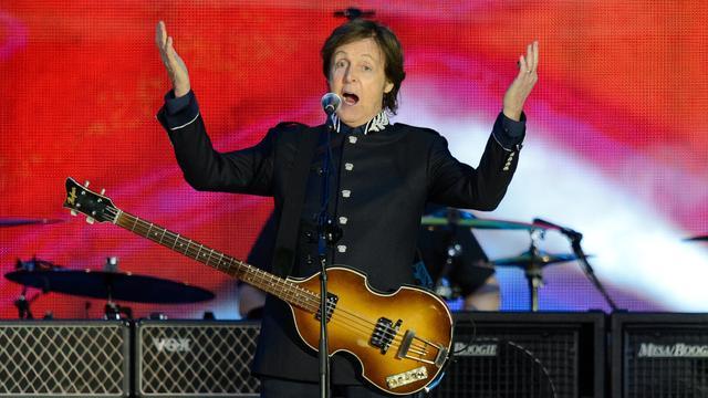 Paul McCartney opent Olympische Spelen
