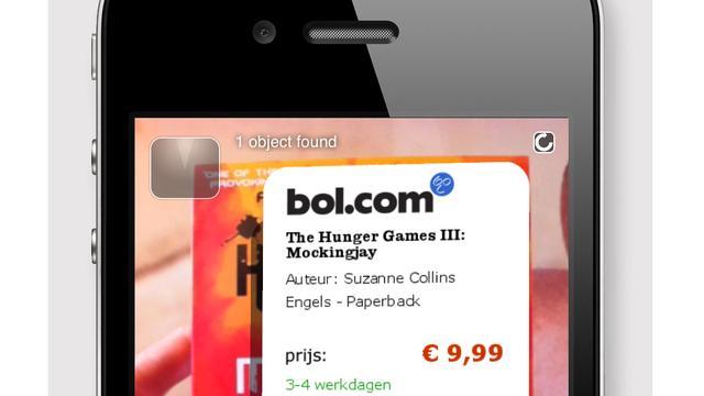 Bol.com verkoopt artikelen via augmented reality-app Layar